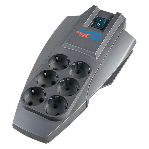 цена на Сетевой фильтр PILOT X-Pro, 7м, серый [pilot-x-pro 7m]