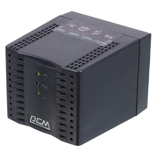 Стабилизатор напряжения POWERCOM TCA-1200 черный [tca-1200 black]