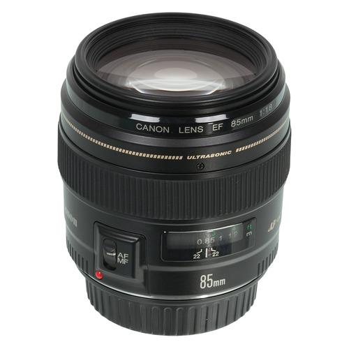 Объектив CANON 85mm f/1.8 EF USM, Canon EF [2519a012] цена и фото