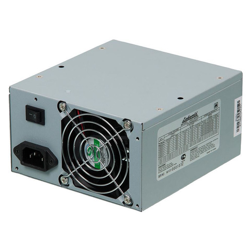 Блок питания LINKWORLD LW2-500W case, 500Вт, 80мм, retail цена и фото