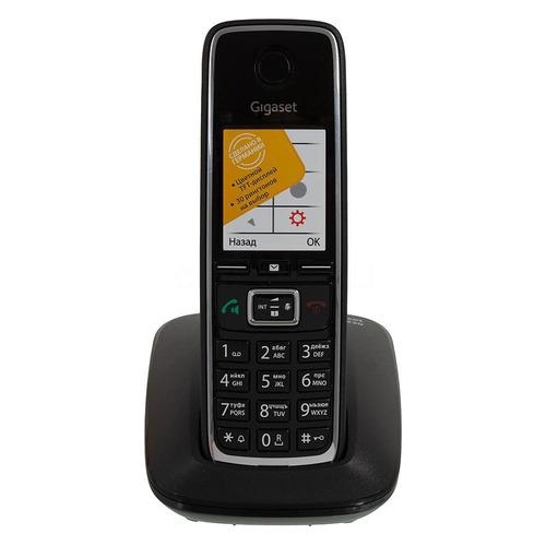 Фото - Радиотелефон GIGASET C530 RUS, черный [s30852-h2512-s301] радиотелефон gigaset c530 черный