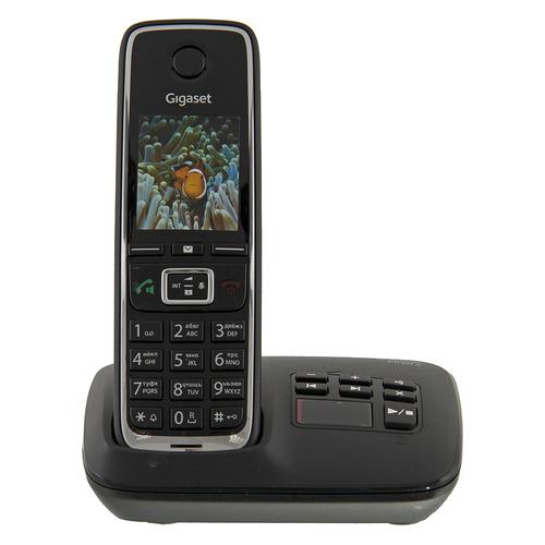 Радиотелефон GIGASET C530A RUS, черный [s30852-h2532-s301] радиотелефон gigaset c530a duo черный