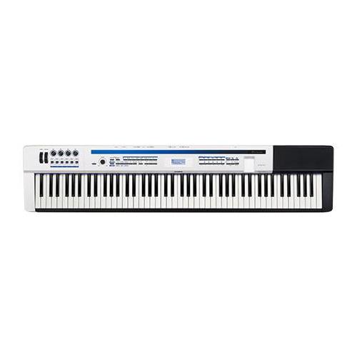 Фото - Цифровое фортепиано CASIO PRIVIA, PX-5SWE цифровое фортепиано casio privia px 870bn 88клав коричневый