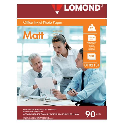 Фото - Фотобумага Lomond 0102131 A4/90г/м2/500л./белый матовое для струйной печати калька hp c3868a 90г м2 белый для струйной печати