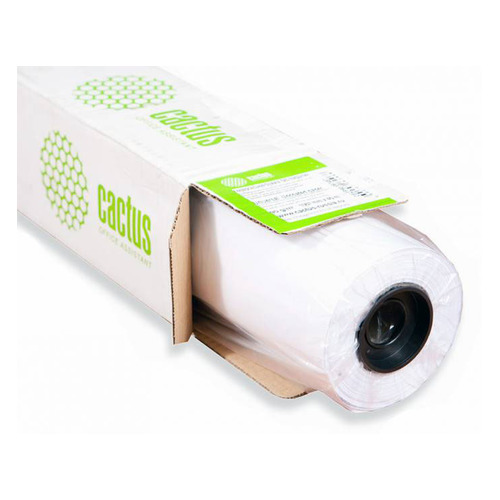 Фото - Бумага Cactus CS-LFP90-914457 36(A0) 914мм-45.7м/90г/м2/белый CIE171% для струйной печати втулка:50 калька hp c3868a 90г м2 белый для струйной печати