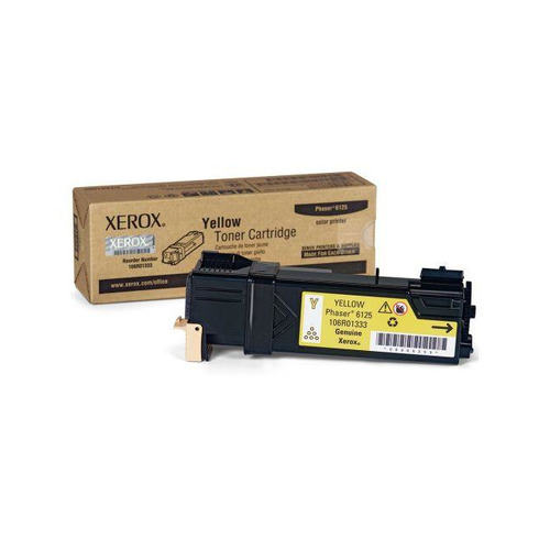 Картридж XEROX 106R01337 желтый картридж xerox yellow 106r01337