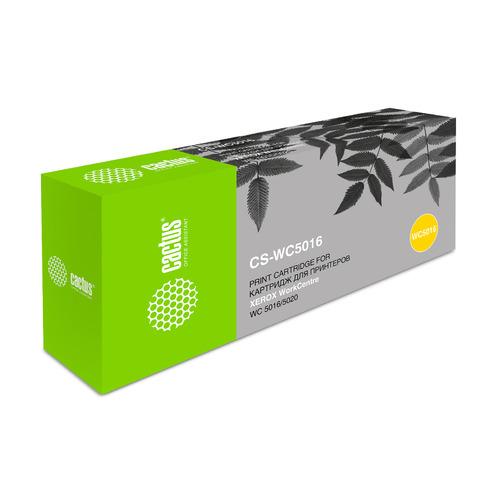 Картридж (двойная упаковка) CACTUS CS-WC5016, 106R01277, черный xerox 106r01277 для workcentre 5020 черный