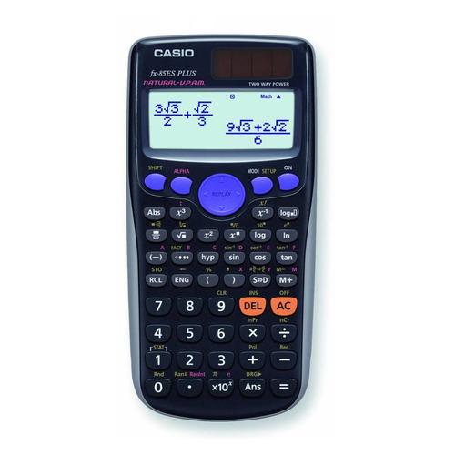 Калькулятор CASIO FX-85ES PLUS, 12-разрядный, черный калькулятор casio fx 85es plus 12 разрядный черный