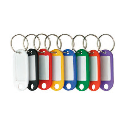 Брелок для ключей Alco 1851-13 инфо-окно желтый 100 шт./кор. набор брелков для ключей с инфо окном key clip 6 шт красный 2