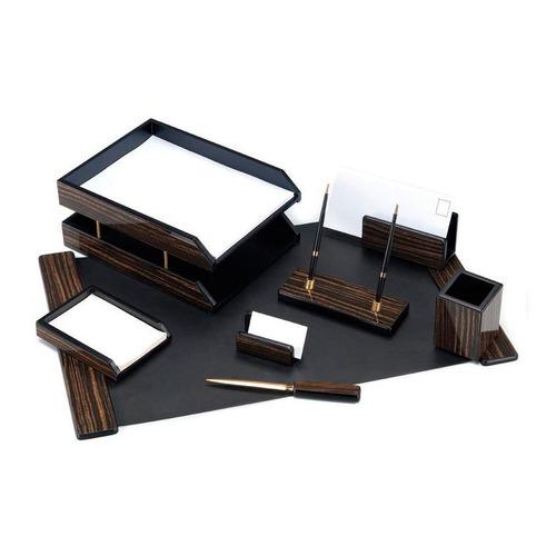 Фото - Настольный набор GOOD SUNRISE 8FE-1A, дерево/МДФ, 8 предметов, черный подставка для цепочек модница цвет