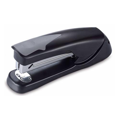 цена Степлер Kw-Trio 5642BLCK Half-strip Economic 24/6 26/6 (20листов) черный 100скоб 12 шт./кор. в интернет-магазинах