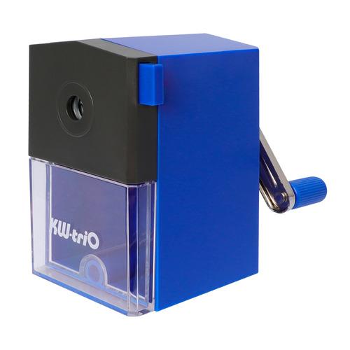 Точилка для карандашей KW-TRIO 305Ablu механическая, синий точилка для карандашей kw trio 31va механическая ассорти