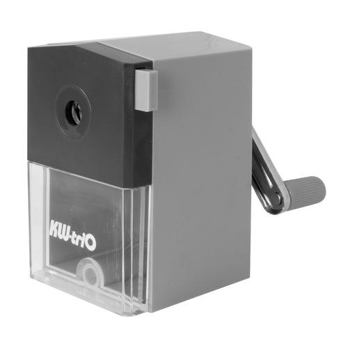Точилка для карандашей KW-TRIO 305Agr механическая, серый точилка для карандашей kw trio 31va механическая ассорти