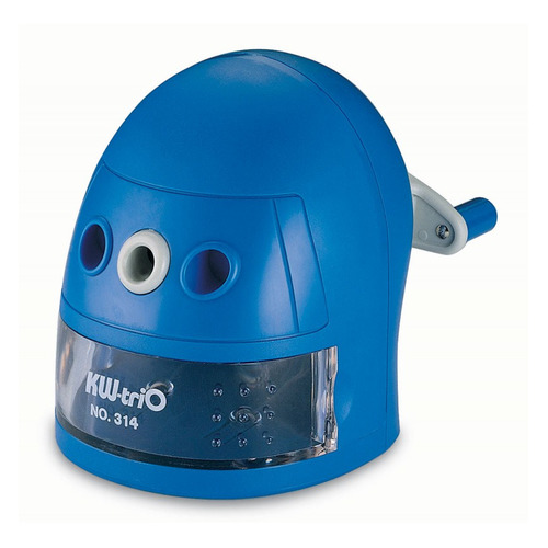 Точилка для карандашей KW-TRIO 314Ablu Робот механическая, синий [314a-blu] 314Ablu Робот по цене 550