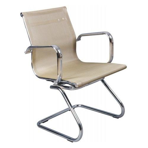 Фото - Кресло БЮРОКРАТ CH-993-Low-V, на полозьях, сетка, золотистый [ch-993-low-v/gold] кресло бюрократ ch 993 low v ivory