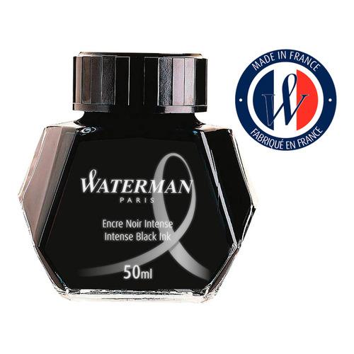 Флакон с чернилами Waterman Ink Bottle (S0110710) черный чернила для ручек перьевых картридж waterman international 52011 s0110940 черный чернила для ручек перьевых 6шт