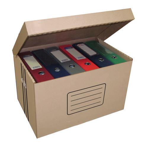 Короб архивный откидная крышка Бюрократ AC-18 микрогофрокартон 480x325x295мм коричневый 10 шт./кор. темно синий стиль pu кожаный бумажник держателя карты откидная крышка чехол дляsamsung a510