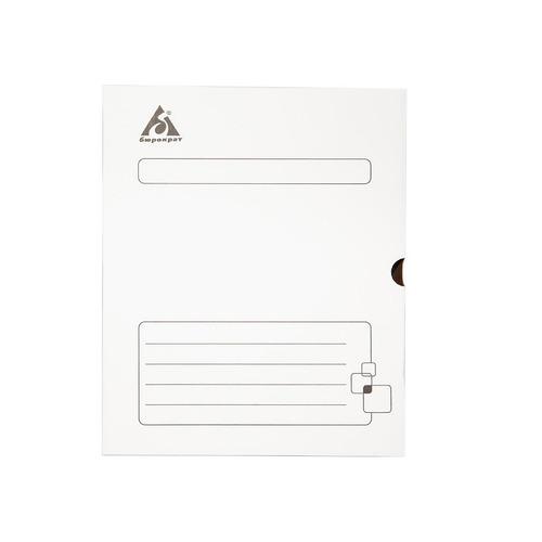 цена на Короб архивный Бюрократ KKA-80WT микрогофрокартон корешок 80мм 255x340x80мм белый 40 шт./кор.