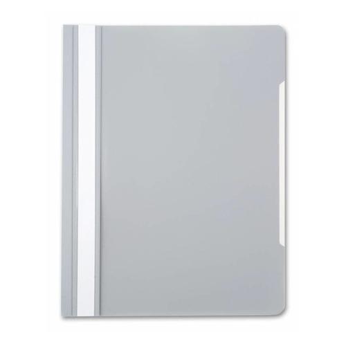 Упаковка папок-скоросшивателей БЮРОКРАТ -PS20GREY, A4, пластик, серый 200 шт./кор. папка скоросшиватель бюрократ ps20turg a4 прозрач верх лист пластик бирюзовый 0 12 0 16 200 шт кор