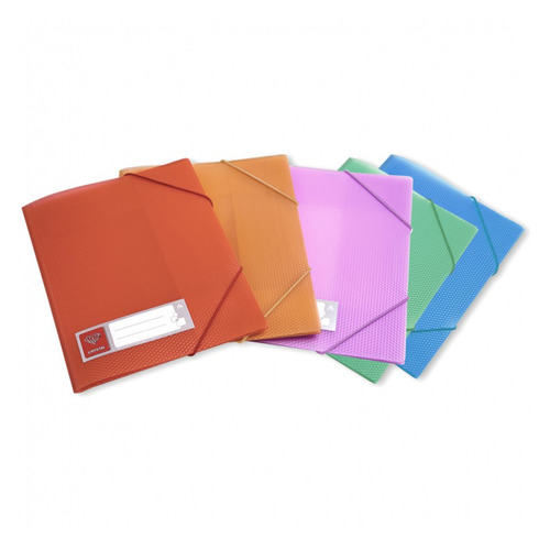 Папка на резинке Бюрократ Crystal -CR510 A4 пластик кор.30мм 0.5мм ассорти 60 шт./кор. папка на резинке бюрократ crystal cr510 a4 пластик кор 30мм 0 5мм ассорти 60 шт кор