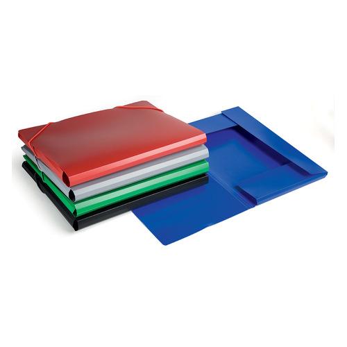 Папка на резинке Бюрократ -PR05 A4 пластик кор.30мм 0.5мм ассорти 60 шт./кор. папка на резинке бюрократ crystal cr510 a4 пластик кор 30мм 0 5мм ассорти 60 шт кор