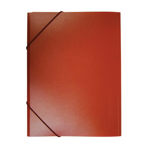 Папка на резинке Бюрократ -PR05RED A4 пластик кор.30мм 0.5мм красный 60 шт./кор. папка на резинке бюрократ crystal cr510 a4 пластик кор 30мм 0 5мм ассорти 60 шт кор