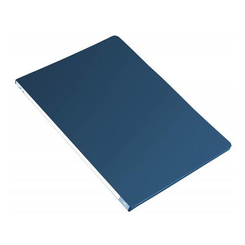 Папка с метал.зажим Бюрократ -PZ05CBLUE A4 пластик 0.5мм торц.наклейка синий 44 шт./кор. наклейка widex hd a4 a4