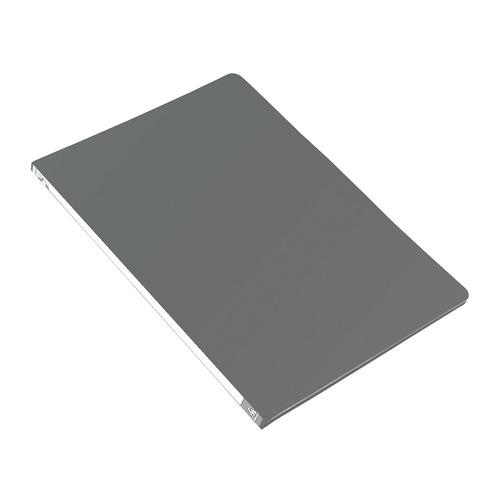 Папка с метал.зажим Бюрократ -PZ05CGREY A4 пластик 0.5мм торц.наклейка серый 44 шт./кор. наклейка widex hd a4 a4