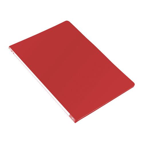 Папка с метал.зажим Бюрократ -PZ05CRED A4 пластик 0.5мм торц.наклейка красный 44 шт./кор. наклейка widex hd a4 a4