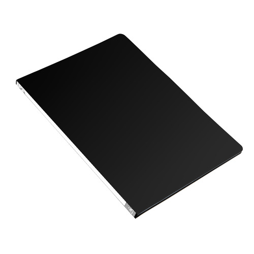 Папка с метал.пруж.скоросш. Бюрократ -PZ05PBLCK A4 пластик 0.5мм торц.наклейка черный 44 шт./кор. наклейка widex hd a4 a4