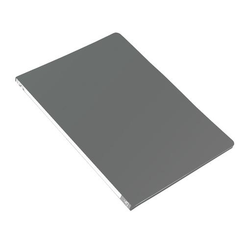 Папка с метал.пруж.скоросш. Бюрократ -PZ05PGREY A4 пластик 0.5мм торц.наклейка серый 44 шт./кор. наклейка widex hd a4 a4