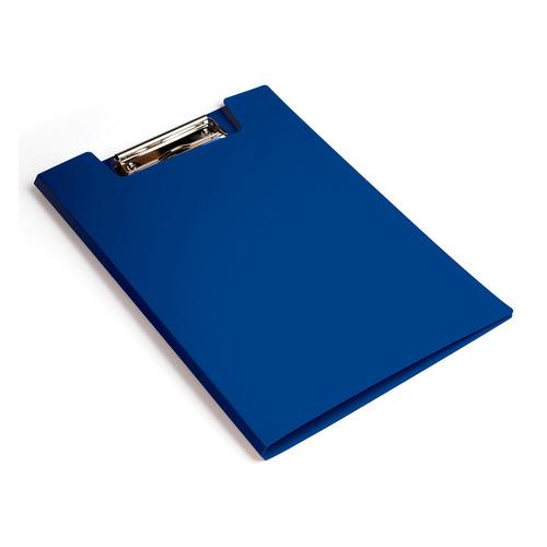 Папка клип-борд Бюрократ -PD602BLU A4 пластик 1.2мм синий 20 шт./кор. клип борд а4 metallic пластик темно синий icb01 bu