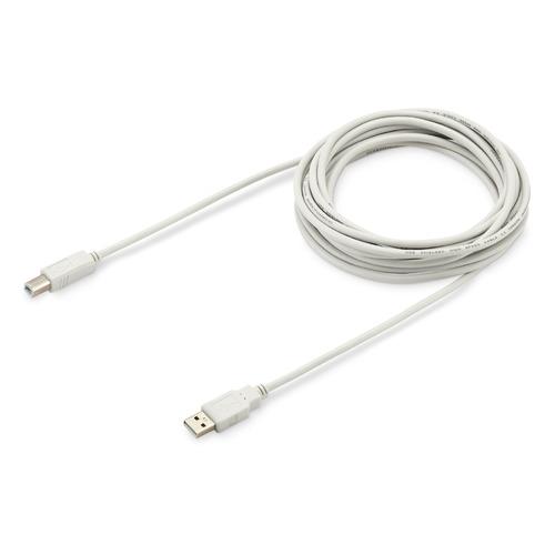 Фото - Кабель USB2.0 BURO USB A(m) - USB B(m), 5м [usb2.0-am/bm-5] кабель trendnet tew l208 кабель lmr200 reverse to n type 8 метров