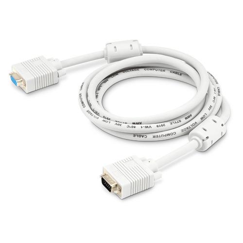 Фото - Кабель-удлинитель VGA BURO CAB015S-06, VGA (m) - VGA (f), ферритовый фильтр , 1.8м, серый кабель удлинитель svga ningbo cab015s 5m vga m vga f ферритовый фильтр 5м