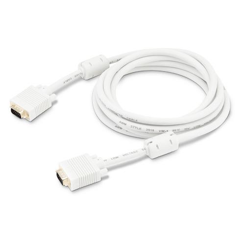 Фото - Кабель VGA BURO CAB016S-10, VGA (m) - VGA (m), ферритовый фильтр , 3м, серый кабель ningbo cab016s 06f vga m vga m 1 8м феррит кольца