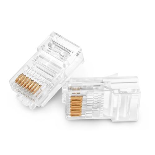 Коннектор RJ-45 Buro TL-CAT-001 8p8c 5cat (упак.:100шт) коннектор gembird rj 45 8p8c cat 5e lc ptu 01 100 100шт