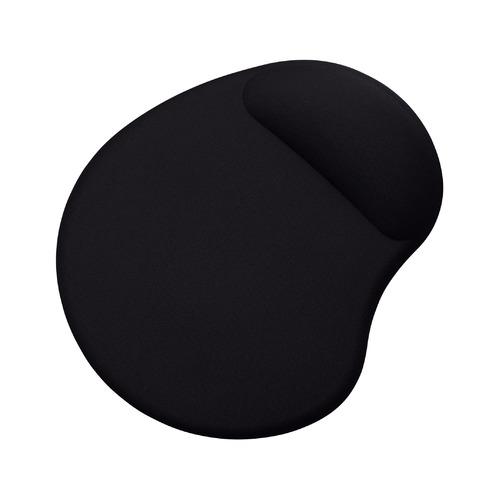 Коврик для мыши BURO BU-GEL, черный [bu-gel/black] коврик buro для мыши bu gel blue 817305