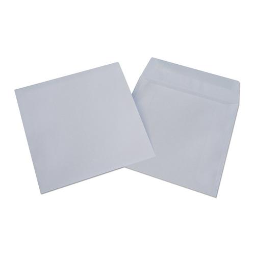 цена на Конверт Бюрократ 201060 CD 125x125мм без окна белый клеевой слой 80г/м2 (pack:1000pcs)