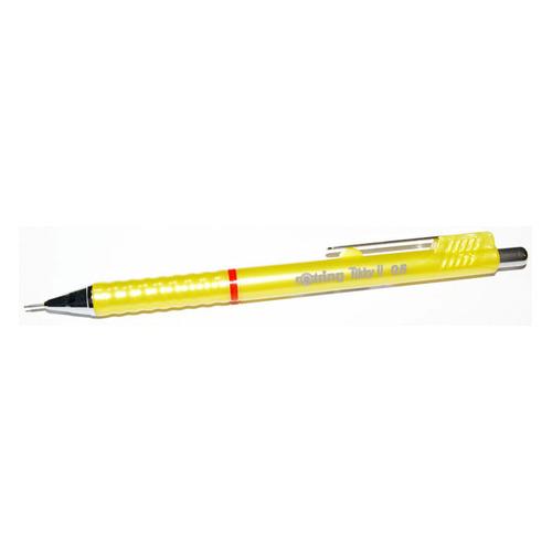 Фото - Упаковка карандашей механических ROTRING Tikky 1904702, 0.5мм, желтый 12 шт./кор. упаковка грифелей rotring tikky s0312700 1 0мм 10 шт кор