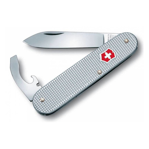 Складной нож VICTORINOX Alox Bantam, 5 функций, 84мм, серебристый