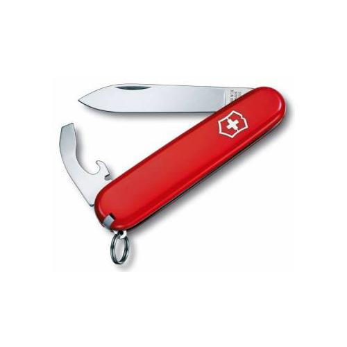 Складной нож VICTORINOX Bantam, 8 функций, 84мм, красный нож victorinox bantam 0 2303 red
