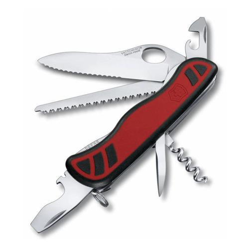 купить Складной нож VICTORINOX Forester One Hand, 10 функций, 111мм, красный / черный недорого