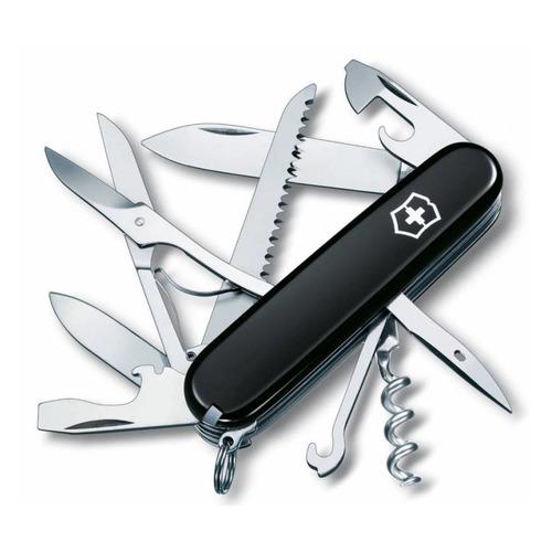 цена на Складной нож VICTORINOX Huntsman, 15 функций, 91мм, черный