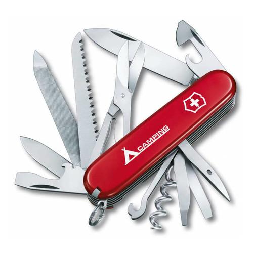 Складной нож VICTORINOX Ranger Camping, 21 функций, 91мм, красный нож многофункциональный victorinox ranger camping 21 функций красный