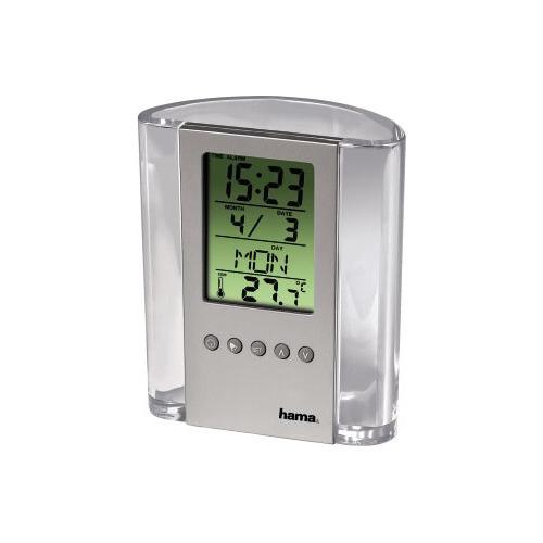 Термометр HAMA H-75299, серебристый [00075299] термометр hama h 123143 т 350