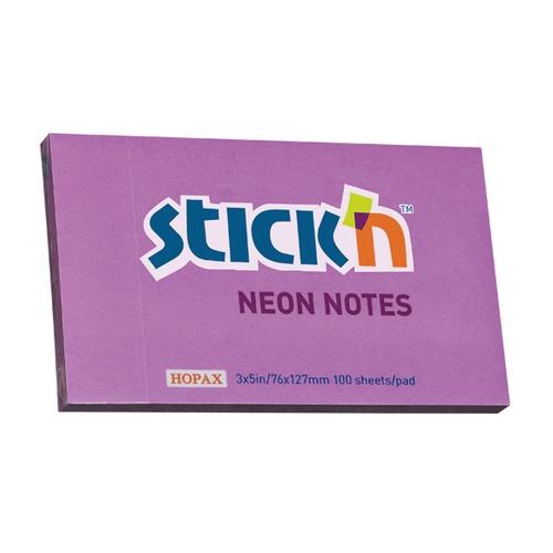 Упаковка блоков самоклеящихся STICK`N 21214 76x127 фиолетовый 12 шт./кор.