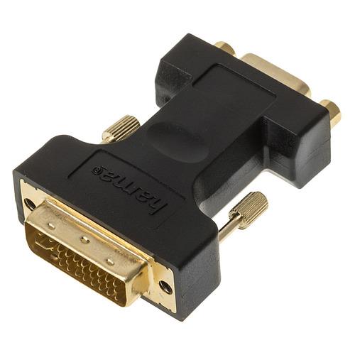 Фото - Адаптер DVI HAMA H-45073, DVI (m) (прямой) - VGA (f) (прямой) [00045073] кабель dvi dvi 1 8м hama high quality серый h 45077
