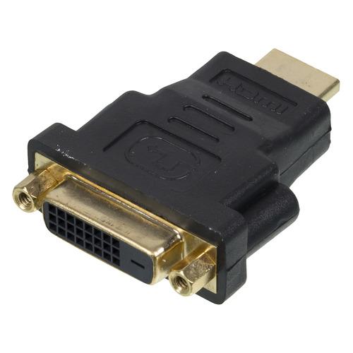 Фото - Переходник NINGBO HDMI (m) - DVI-D (f), черный [cab nin hdmi(m)/dvi-d(f)] переходник hdmi m hdmi f черный