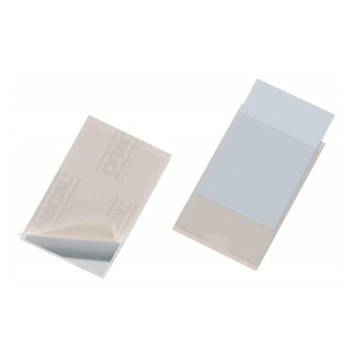 цена на Карман самоклеющийся Durable Pocketfix 8079-19 57х90мм (упак.:10шт) 10 шт./кор.