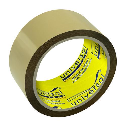 Клейкая лента упаковочная Unibob UNIVERSAL 00610 коричневая шир.48мм дл.45м полипропилен 6 шт./кор. клейкая лента упаковочная двусторонняя unibob 41147 шир 50мм дл 25м полипропилен 36 шт кор